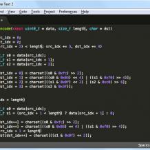 编码工具SublimeText3汉化版